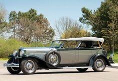 1929 Duesenberg Model J Dual-Cowl Phaeton - (Duesenberg Automobile & Motors Company, Inc. Auburn