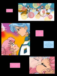 This is my second Sailor Moon Doujinshi Chapter 1 (New Sailor Moon) pg. 01 --> [link] Chapter 2 (A New Team) pg. 21 --> [link] Chapter 3 (Cyrius D. New Senshi Generation Chibiusa And Helios, Princesa Serena, Happy 7th Birthday, Neo Queen Serenity, Sailor Princess, Sailor Chibi Moon, Moon Pictures, Artwork Images, Father And Son