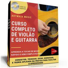 DICAS E AULAS DE VIOLÃO E GUITARRA Material Didático, Blog, Music Teachers, Guitar Classes, Certificate, Guitar