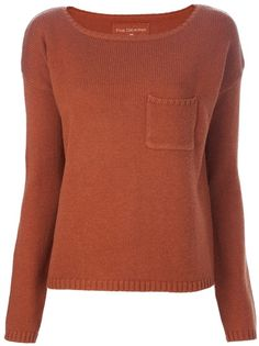 $203.77 FINE COLLECTION Boat Neck Sweater