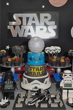 Little Wish Parties | Lego Star Wars Party | https://littlewishparties.com