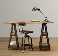 Schreibtisch Selber Bauen   22 Vielfältige Einrichtungsideen Fürs Büro · Diy  ...