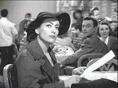 Cinema Style File--Joan Crawford in 1945's Film Noir MILDRED PIERCE | GlamAmor