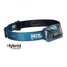 Petzl TIKKINA 150 Lumen blau| Einfache, kompakte Stirnlampe zur Ausleuchtung im Nahbereich mit 150 Lumen