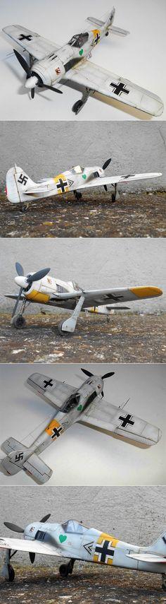 """1/48 Hasegawa """"white"""" Fw 190A-4"""