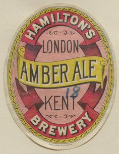 Amber Ale by Thomas Fisher Rare Book Library, via Flickr