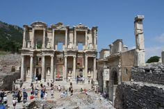Ancient History - Antiquity - Archeaology Celsus Library, Ephesos