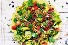 """""""I've called this salad LA-style because it melds Mexican flavours and fresh produce in a very Californian way.""""- Jamie Oliver"""