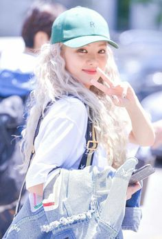 """Kim Hyo-yeon (김효연) of Girls' Generation (소녀시대) heading to KBS Music Bank to perform """"Wannabe"""" on 6/2/17. 