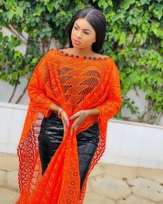 Latest African Fashion Dresses, African Dresses For Women, Chic Outfits, Fashion Outfits, Africa Dress, African Design, African Beauty, Clothes, Orange