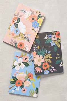 About Rifle Paper Co. Anna Bond is the whimsical whirlwind behind Rifle Paper Co., the Florida-based stationery boutique and design studio whose heartfelt notecards and quirky journals have us smitten. Cute Journals, Cute Notebooks, Cath Kidston, Design Thinking, Visual Merchandising, Red Cherry Blossom, Stationary Supplies, Stationary Design, Beautiful Notebooks