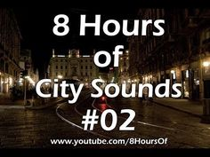 8 Hours of relaxing city sounds. If you listen to this during sleep or meditation you will feel peaceful and calm. Great for tinnitus meditation or when you study.  Please like, subscribe and comment if you enjoyed this video. It will really help me out a lot. :)  http://www.youtube.com/subscription_center?add_user=8hoursof #meditation #sleep #yoga #tinnitus #health