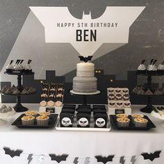 Supercool Batman party by #sugarcoatedmama