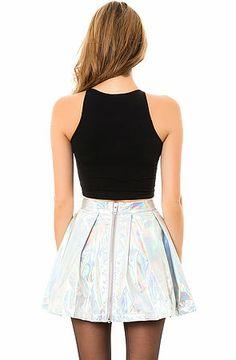 The Hologram Circle Skirt