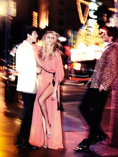 Anja Rubik joins Spanish top models Andrés Velencoso Segura, Jon Kortajarena and Oriol Elcacho in the March 2011 issue of Vogue España. The sensual cover story is photographed by Alexi Lubomirski and styled by Belen Antolín.