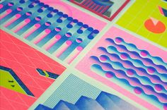 RISOGRAPH PRINTING CALENDAR on Behance