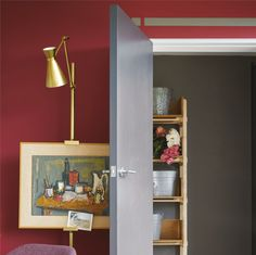 Radicchio Couleur 2017 Farrow and Ball Best Interior Paint, Interior Paint Colors, Paint Colours, Room Colors, Interior Shutters, Interior And Exterior, Interior Rendering, Luxury Interior, Color Trends 2018