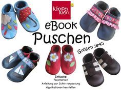eBook Puschen - Klimperklein - Schnittmuster und mehr