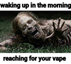 This page contains a large collection of vape memes and is only vape related. You will find funny videos and dank vaping memes of your dreams. There are also great vape mods, e-juice and many other. Walking Dead Birthday Meme, Happy Birthday Meme, Vape Memes, Funny Memes, Jokes, Walking Dead Zombies, The Walking Dead, Weird Facts, Fun Facts