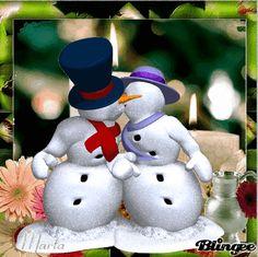 Christmas Images, Christmas Snowman, Merry Christmas, Christmas Ornaments, Gif Photo, Advent, Cute Gif, Hello Kitty, Holiday Decor