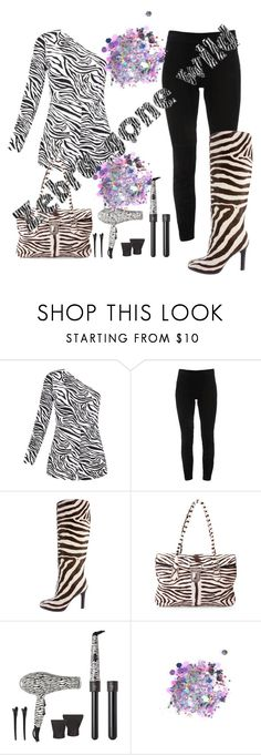 """""""Zebra"""" by latinazstylez ❤ liked on Polyvore featuring Elie Tahari, Ralph Lauren Collection, Prada, Royale and The Gypsy Shrine"""