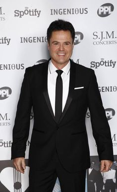 Donny Osmond arrives at the 2012 Music Industry Trusts Award ceremony at the Grosvenor House Hotel on Nov. 5, 2012, in London.