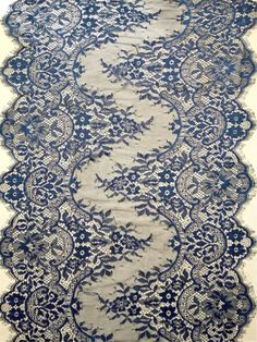Hey, I found this really awesome Etsy listing at https://www.etsy.com/listing/245606378/navy-lace-runner-16-lace-table-runner