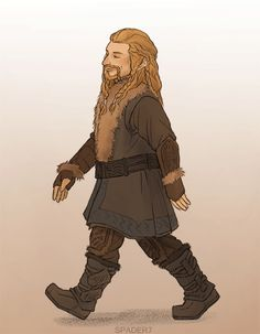 One of my favorite gifs. Love the way he walks into Bag End