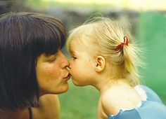 Do you kiss your babies on the mouth? What about older children? Was there an age where you stopped? Have you ever kissed your parents on the mouth? *** I admit, my family is all about kissing. My parents, sister, uncle, FIL, even some of my friends.  We're kissers.