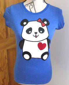 10 Look New 99 elástico € Talla 8 Panda camiseta azul Todo Top dpwqEq