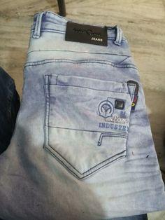 True Jeans, My Jeans, Denim Jeans Men, Jeans Style, Jeans Pants, Men Trousers, Patterned Jeans, Denim Fabric, Ankle Jeans