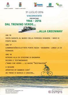 1966-2016 DAL TRENINO VERDE ALLA GREENWAY
