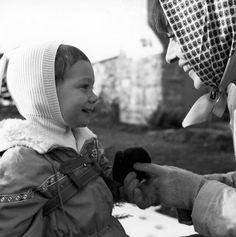 Audrey Hepburn with her son Sean Ferrer circa 1962.
