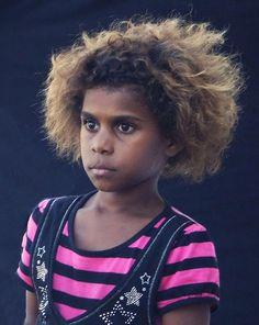 Australian Aboriginal Girl