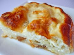 Romanian Food, Dessert Recipes, Desserts, Restaurant Recipes, Quiche, Good Food, Food And Drink, Favorite Recipes, Sweets