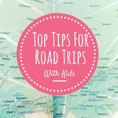 We recently went on a 6 week road trip, and although we are by no means 'road tripping with kids experts', we did pick-up a few tips and tricks along the way.