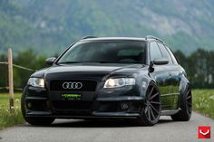 "B7 Audi RS4 Wagon | 20"" Custom CVT | Vossen"