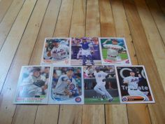 Lot of (28) Cards 2008 Upper Deck 2012 Opening Day 2013 Topps Series 2 Archives