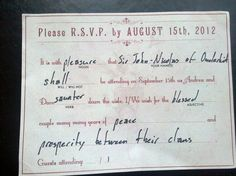 RSVP idea! How great is this?! Best of all, you have an RSVP that can work as a great scrapbook piece!