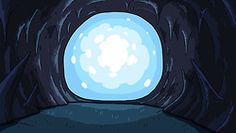 """Adventure Time"" background art"
