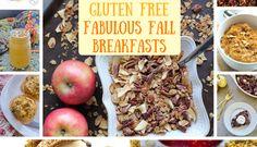Recipe Roundup: 15 Vegan & Gluten Free Fabulous Fall Breakfasts!