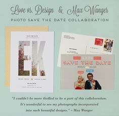 Photo Postcard Save The Dates - Rustic Wedding Chic