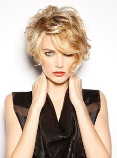 shaggy curly pixie cuts for women
