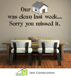 Quote for the Home Cleaness