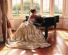 Grand #piano, must-have for any stylish drawing room