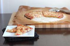 The BEST Cauliflower Crust Pizza!