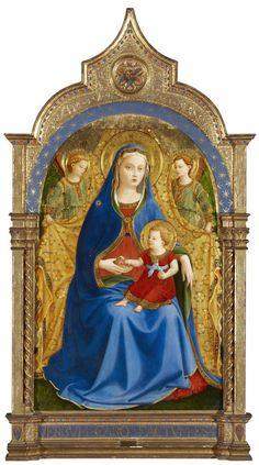 Virgen de la Granada. Fra Angelico.