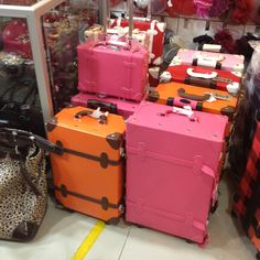Cute luggages
