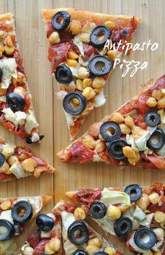Antipasto Pizza is y
