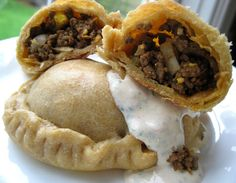 I referenced several different recipes to create these Artgentine-style beef picadillo empanadas. There are a few trademark ingredients of Argentine empanadas-cumin paprika cinnamon boiled egg olives and raisins-all of which create layers of texture Mexican Food Recipes, Beef Recipes, Mexican Dishes, Recipies, Ethnic Recipes, Beef Picadillo, Beef Empanadas, Paleo For Beginners, Latin Food